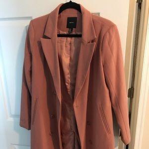 Long Pink Coat